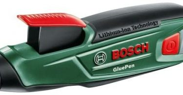 Pistolet à colle sans fil Bosch - GluePen (Livré avec 4 tubes de colle et chargeur)