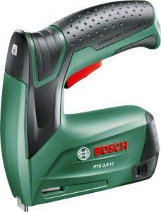 Agrafeuse électrique sans fil Bosch PTK 3.6 LI