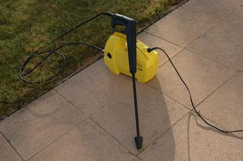 nettoyage de dalles avec un Nettoyeur haute pression